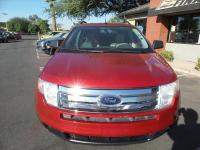 Options:  2009 Ford Edge Se 4Dr Crossover|Red|Exhaust