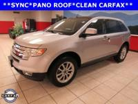 PANORAMIC ROOF, SYNC, Edge SEL, Duratec 3.5L V6,