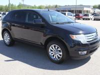 This is a great 2009 Ford Edge SEL. It is Blue with