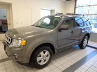 Escape XLT AWD and ONE OWNER. Isn't it time for a