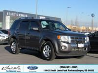 Boasts 24 Highway MPG and 17 City MPG! This Ford Escape