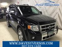 2009 Ford Escape Limited AWD 6-Speed Automatic Duratec