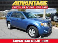 This Sporty Blue 2009 Ford Escape has a CLEAN CarFax!!
