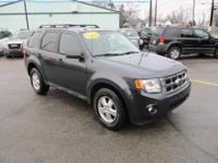 Options:  2009 Ford Escape 4Wd 4D Wagon Xlt