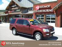 This 2009 Ford Explorer has a clean Carfax and is Vista