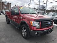 FX4 4x4 - 4Door Extended Cab - Razor Metallic Red on