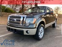 Brown 2009 Ford F-150 4WD 6-Speed Automatic Electronic