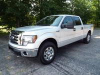 This is the 2009 Ford XL Crew Cab 4x4! It's powered by