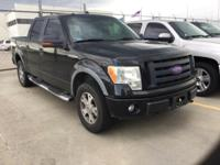 Recent Arrival! Ford F-150 Black 4WD Clean CARFAX.