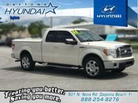 Recent Arrival! White 2009 Ford F-150 Lariat RWD