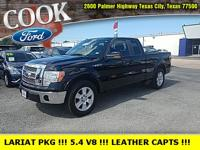 Black Clearcoat 2009 Ford F-150 Lariat RWD 6-Speed