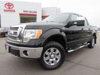 This 2009 Ford F-150 comes equipped with heated and