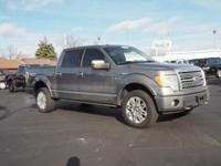 Options:  2009 Ford F-150 Platinum|4X4 Platinum 4Dr