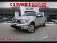 Platinum Edition 2009 Ford F-150 Crew Cab truck with