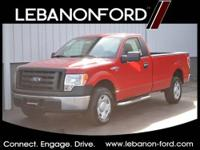 Check out this 2009 Ford F-150 XL. The vehicle has low
