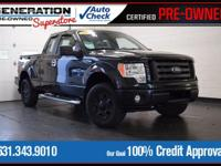 F-150 STX, 4WD, and 2009 Ford F-150. Gasoline! Extended