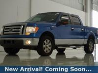 2009 Ford F-150 XLT in Blue Flame Clearcoat Metallic,