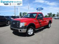 Options:  2009 Ford F-150 Xl|Bright Red