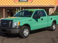 Options:  2009 Ford F-150 Supercab Xl|Stone Green