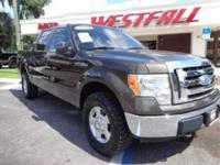 THIS IS A NICE 2009 FORD F150 XLT CREW CAB SHORTBED 4X4