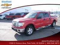 Options:  2009 Ford F-150 Xlt|Red|Gray|Dare To