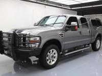 This awesome 2009 Ford F-250 4x4 Diesel comes loaded