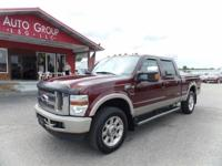 Options:  2009 Ford F-250 Sd Visit Auto Group Leasing