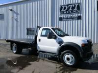 2009 Ford F-450 2009 Ford F-450 11'L Flatbed Truck 4X4