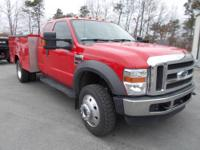 Save thousands from new!! This 2009 Ford F-450 XLT