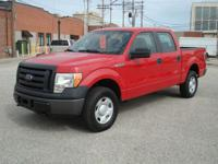 2009 Ford F150 Supercrew 4x4 XL. Local new car dealer