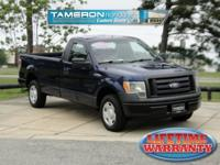 CARFAX One-Owner. Clean CARFAX. Blue 2009 Ford F-150 XL