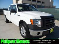 Options Included: N/A2009 Ford F150 Supercab XL, white