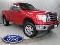 New Price! 2009 Ford F-150 XLT Red Metallic 4WD 6-Speed