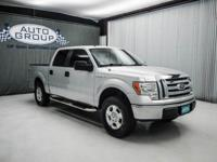 2009 FORD F150 XLT: BRILLIANT SILVER METALLIC/ TAN LOW