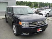 Dark Ink Blue Clearcoat Metallic 2009 Ford Flex SEL AWD