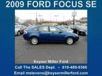 Weekend Special! FOCUS ON YOUR FUTURE in this 2009 FORD