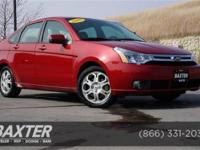 2009 Ford Focus 4dr Car SES Our Location is: Baxter