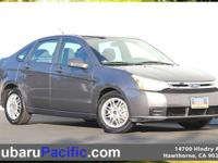 Focus SE, Duratec 2.0L I4 DOHC, 4-Speed Automatic, FWD.