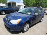 Options:  2009 Ford Focus Se|Se 4Dr Sedan|Low Miles -