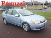 CARFAX One-Owner. Clean CARFAX. Light Blue 2009 Ford