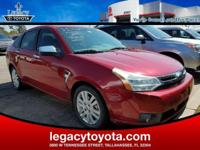 LEATHER, POWER SUNROOF, Focus SEL, 4-Speed Automatic,