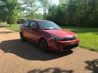 Recent Arrival! 2009 Ford Focus SES Red FWD 4-Speed
