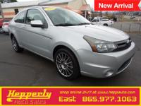 Clean CARFAX. This 2009 Ford Focus SES in Silver