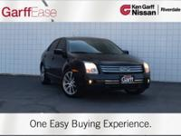 Black 2009 Ford Fusion SE FWD 6-Speed Automatic with