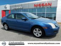 2009 Ford Fusion SE FWD 6-Speed Automatic with
