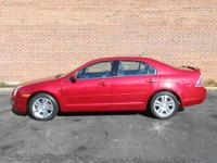 One Owner Fusion SEL, 4D Sedan, Duratec 2.3L I4,