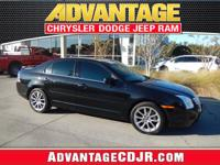 Look Sharp in this Tuxedo Black 2009 Ford Fusion!! LOW