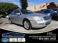 Options:  2009 Ford Fusion V6 Sel 4Dr