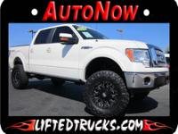 BEAUTIFUL LARIAT SUPER CREW 4X4, LOADED WITH