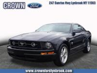 2009 MUSTANG V-6 PREMIUM COUPE.... PONY PACKAGE ,